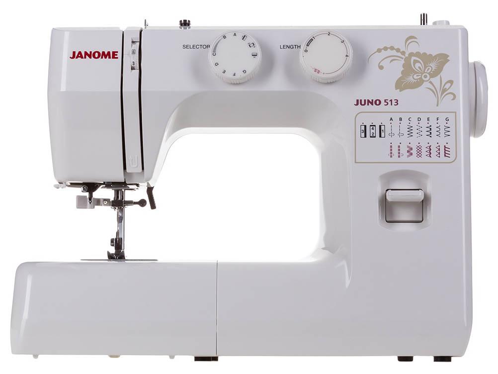 Швейная машинка Janome Juno 513
