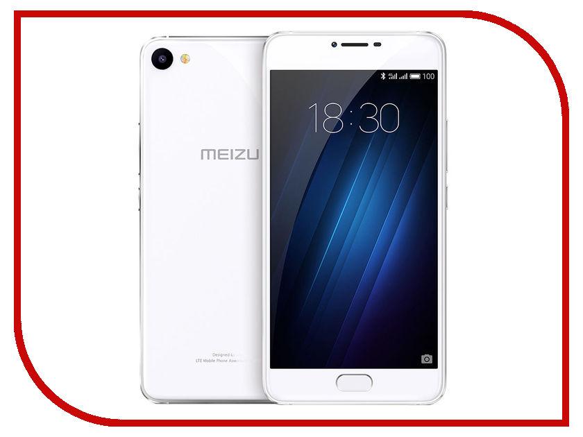 Сотовый телефон Meizu U10 32Gb Silver сотовый телефон meizu m3 note 32gb silver white