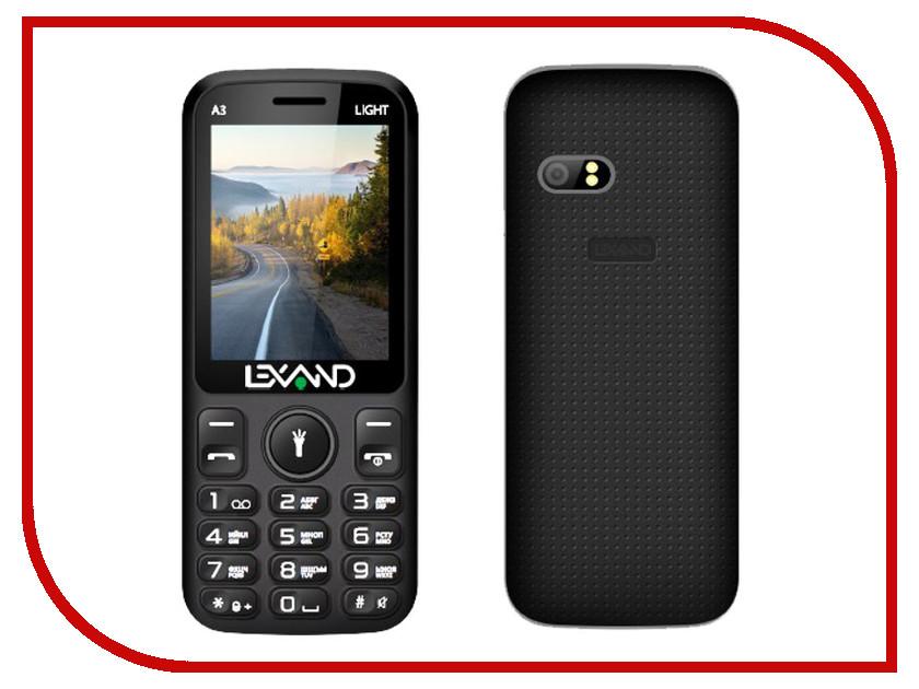 Сотовый телефон Lexand A3 Light сотовый телефон lexand a2 flip black