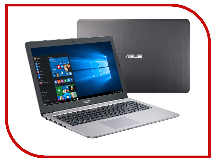 Ноутбук ASUS K501UX-DM771T 90NB0A62-M04420 Intel Core i7-6500U 2.5 GHz/6144Mb/1000Gb/No ODD/nVidia GeForce GTX 950M 4096Mb/Wi-Fi/Bluetooth/Cam/15.6/1920x1080/Windows 10 64-bit<br>