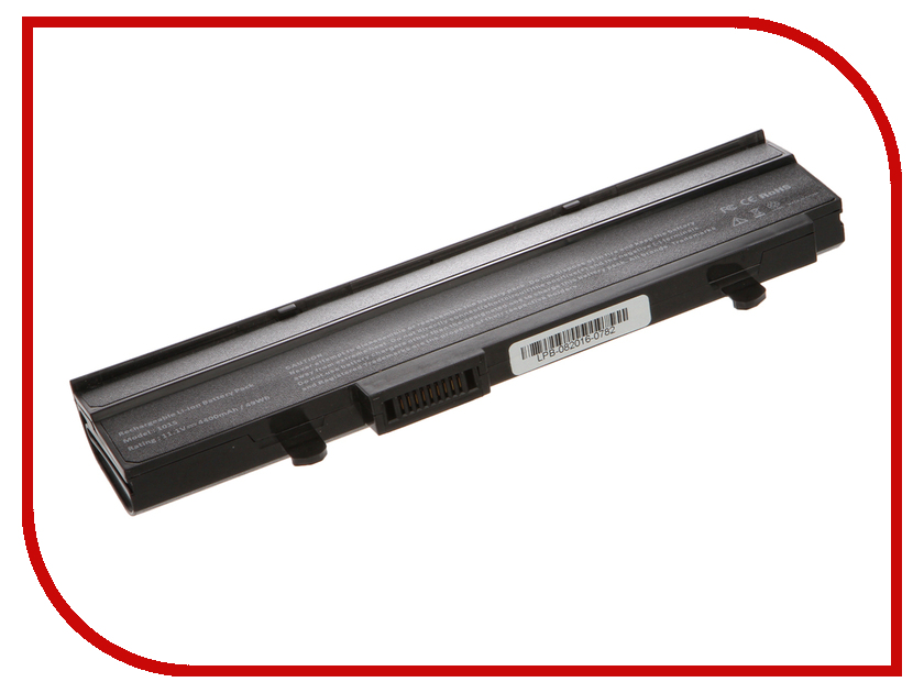 Аккумулятор 4parts LPB-1015 Black для ASUS Eee PC 1015PE/1015PED/1015PN/1015PW/1015T/1015B/1016/1215N/1215P/1215T VX6 Series 11.1V 4400mAh