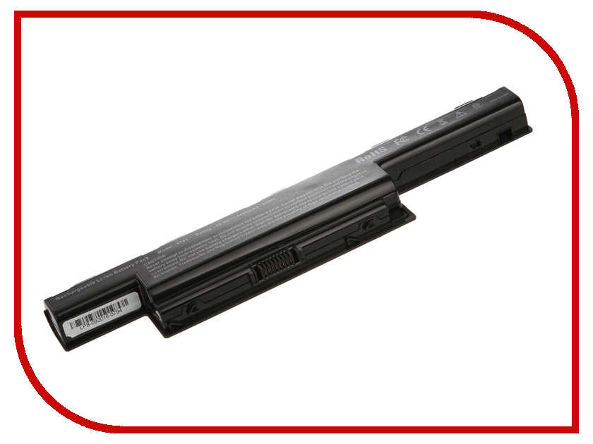 Аккумулятор 4parts LPB-5551 для Acer Aspire 4551G/4741/4771G/5253/5333/5551/5741G/5750G/7551G/7741G/V3/TravelMate 4750 4400mAh