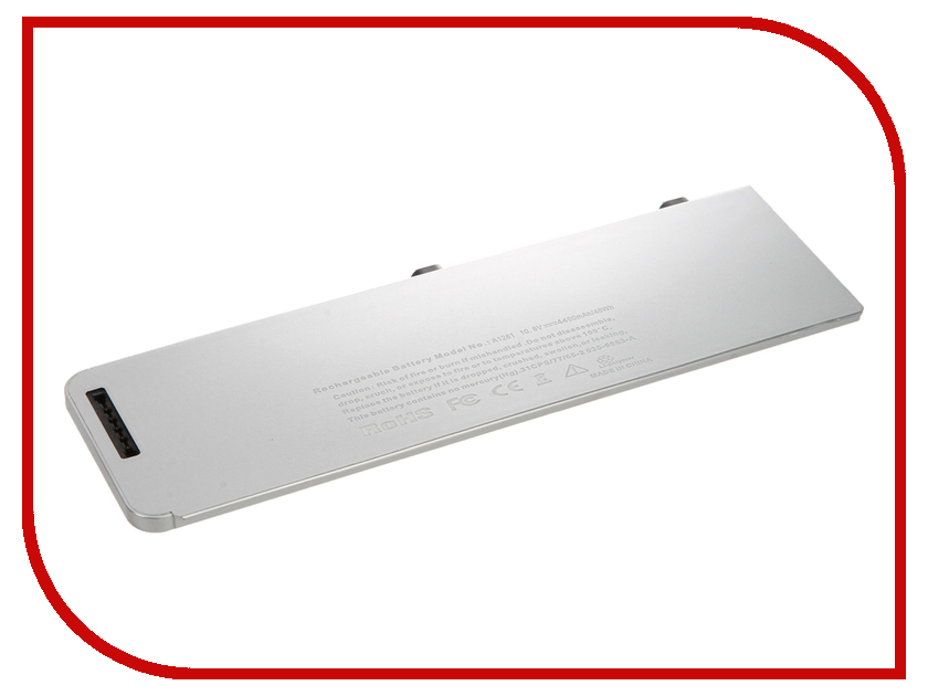 Аккумулятор 4parts LPB-AP1281 для APPLE MacBook Pro 15 Aluminum Unibody Series 10.8V 5200mAh аналог PN: A1281/A1286/Late 2008/Early