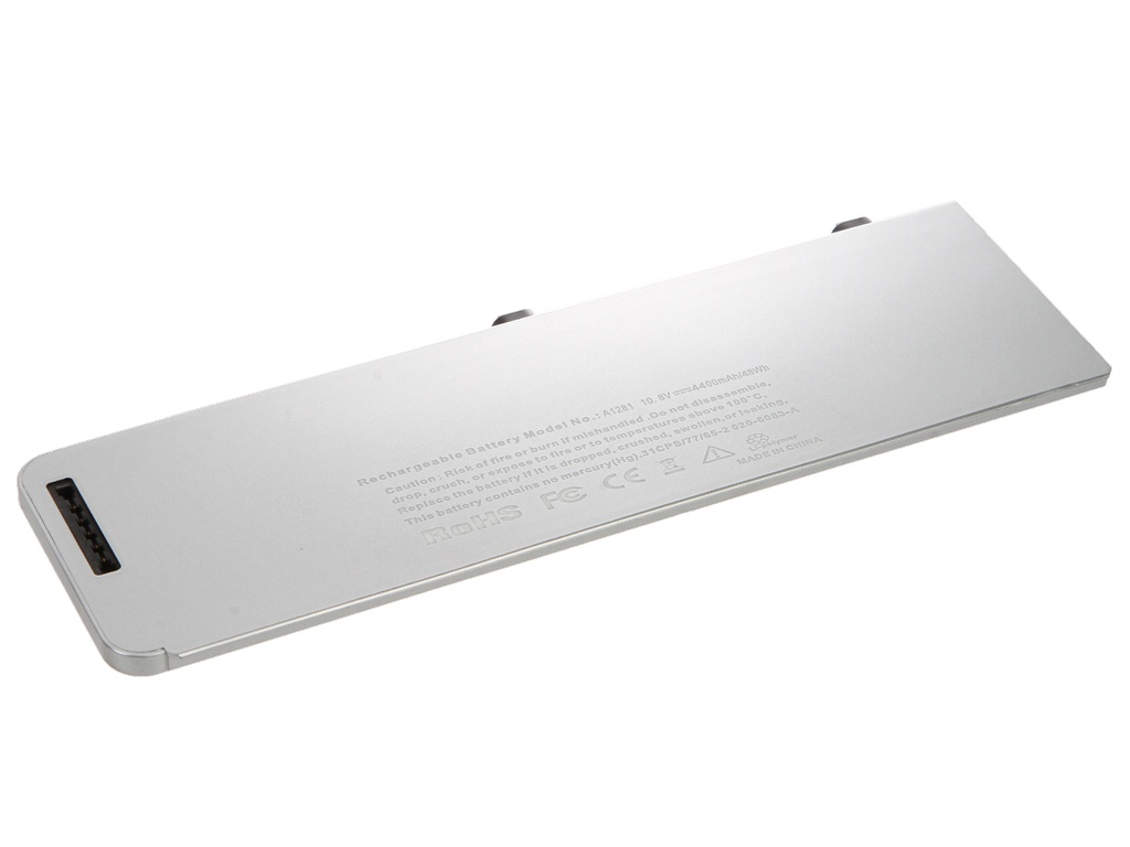 Аксессуар Аккумулятор 4parts для APPLE MacBook Pro 15 LPB-AP1281 Aluminum Unibody Series 10.8V 4400mAh аналог PN: A1281/A1286/Late 2008/Early 2009/MB772/MB470 цена
