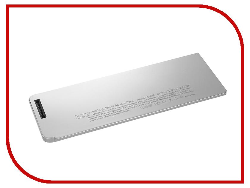 Аккумулятор 4parts LPB-AP1280 для APPLE MacBook 13 Unibody Series 10.8V 4400mAh аналог PN: A1280/MB771/MB466/MB467