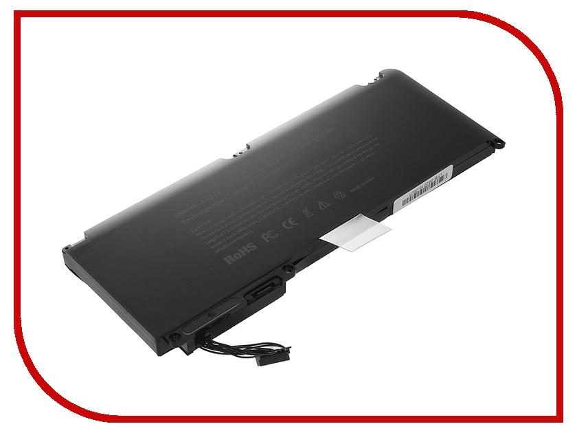 Аккумулятор 4parts LPB-AP1331 для APPLE MacBook 13 Pro 15 10.95V 5400mAh аналог PN: A1331 A1342<br>