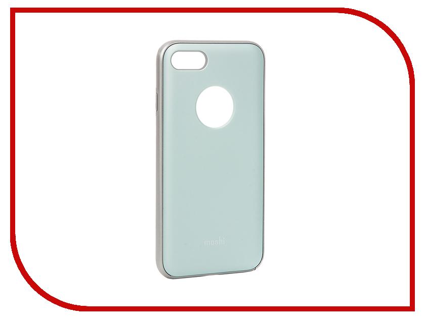 Аксессуар Чехол Moshi iGlaze для APPLE iPhone 7 Powder Blue 99MO088521<br>