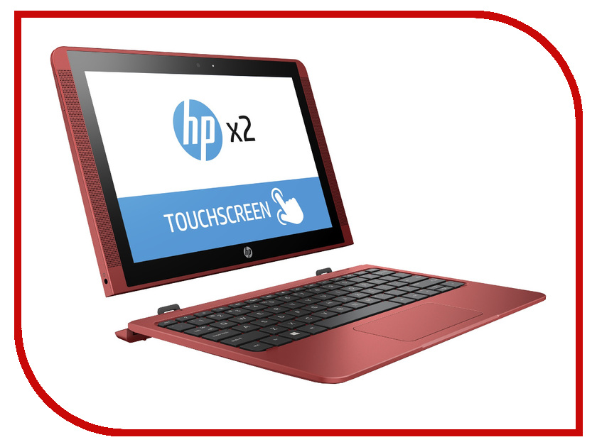 Ноутбук HP x2 10-p001ur Y5V03EA (Intel Atom x5-Z8350 1.44 GHz/2048Mb/32Gb SSD/No ODD/Intel HD Graphics/Wi-Fi/Cam/10.1/1280x800/Touchscreen/Windows 10) hewlett packard hp лазерный мфу печать копирование сканирование