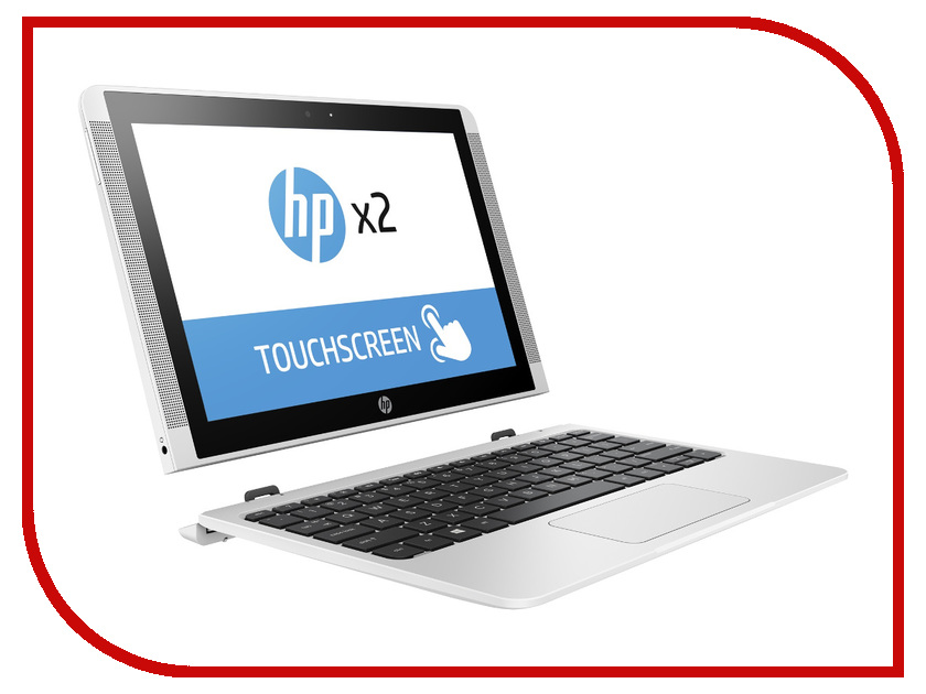Ноутбук HP x2 10-p002ur Y5V04EA (Intel Atom x5-Z8350 1.44 GHz/2048Mb/32Gb SSD/No ODD/Intel HD Graphics/Wi-Fi/Cam/10.1/1280x800/Touchscreen/Windows 10)