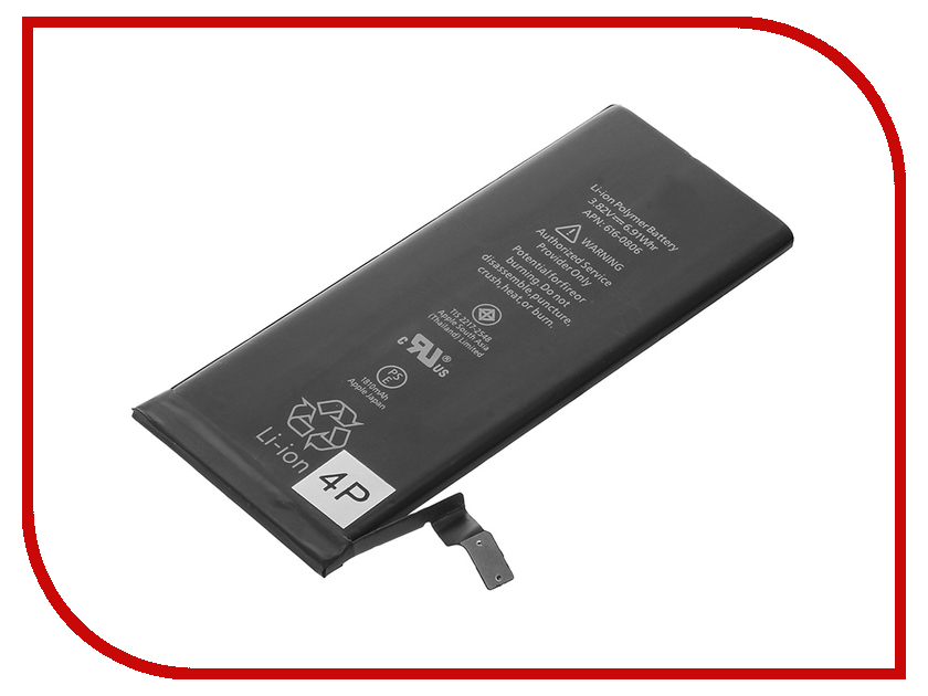 Аккумулятор 4parts 1810mAh SPB-iP6 для APPLE iPhone 6