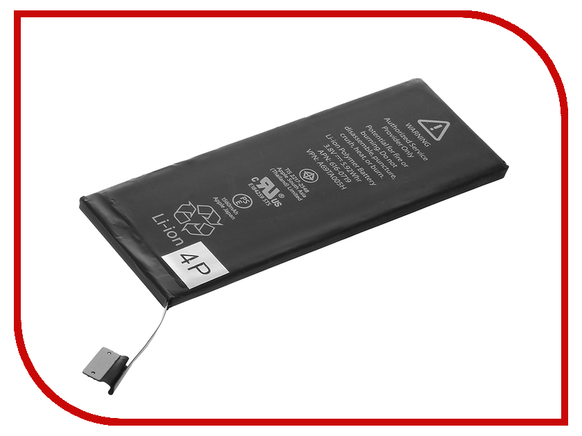 Аккумулятор 4parts 1560mAh SPB-iP5S для APPLE iPhone 5S/5C<br>
