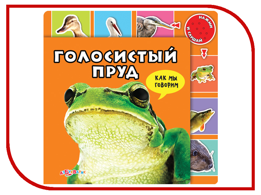 Игрушка АзбукварикГолосистый пруд 9785402005099<br>