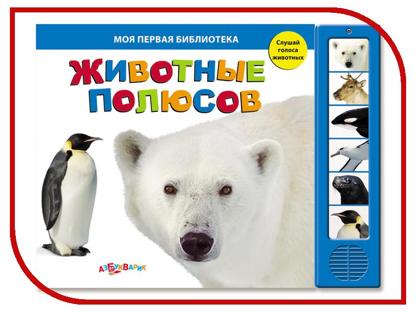 Игрушка Азбукварик Животные полюсов 9785402005433<br>