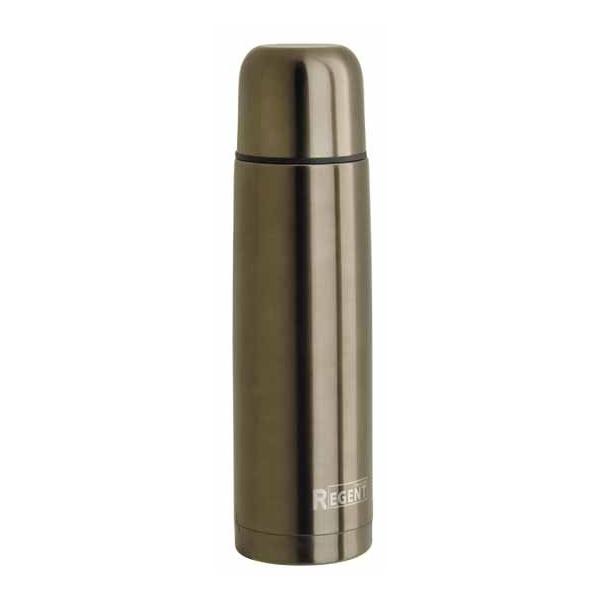 Фото - Термос Regent Inox Bullet 1L 93-TE-B-1-1000B термос regent inox с пневмонасосом цвет черный 2 л 93 te g 1 2000