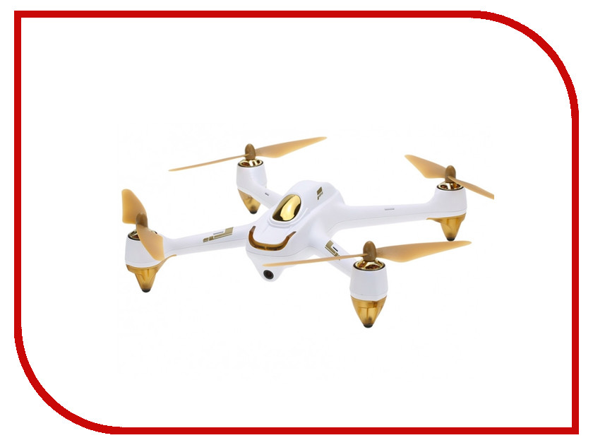Квадрокоптер Hubsan X4 FPV Brushless H501S White цена 2017