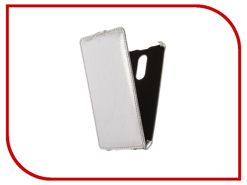 Аксессуар Чехол Xiaomi Redmi Note 4 Zibelino Classico Silver ZCL-XIA-NOT4-SLV аксессуар чехол xiaomi redmi pro zibelino classico black zcl xia pro blk