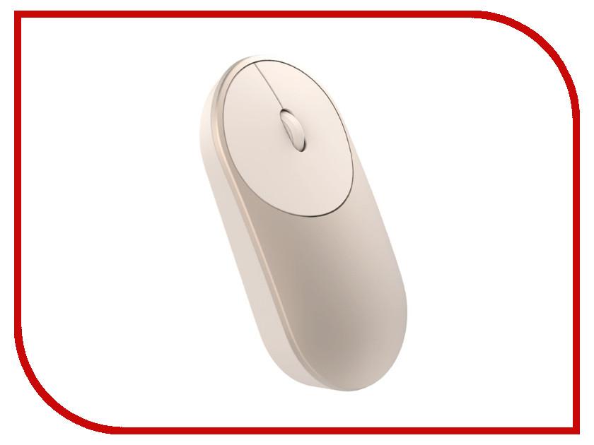 Мышь Xiaomi Mi Portable Mouse Gold штатив xiaomi mi selfie stick tripod xmzpg01ym silver