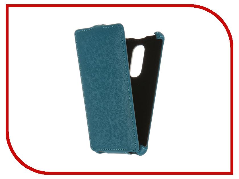 Аксессуар Чехол BQ BQS-5050 Strike Selfie Zibelino Classico Turquoise ZCL-BQ-BQS-5050-TQS<br>