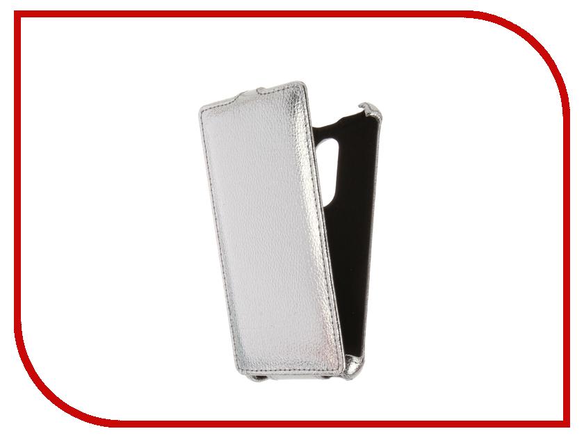 Аксессуар Чехол BQ BQS-5050 Strike Selfie Zibelino Classico Silver ZCL-BQ-BQS-5050-SLV