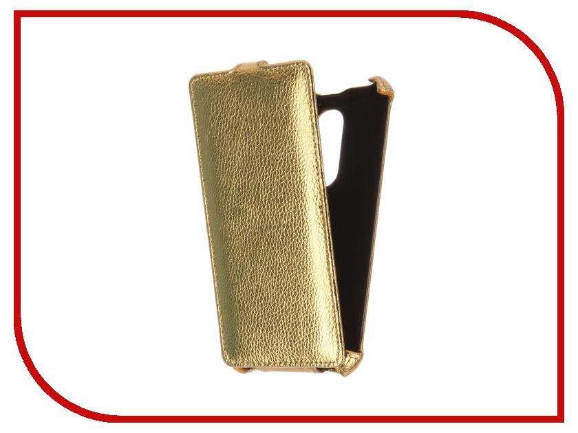 Аксессуар Чехол BQ BQS-5050 Strike Selfie Zibelino Classico Gold ZCL-BQ-BQS-5050-GLD