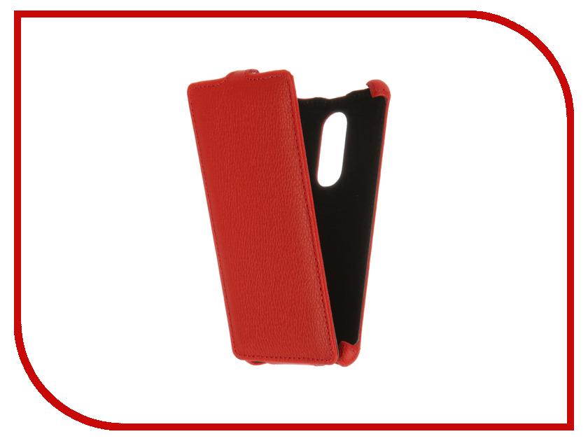 Аксессуар Чехол BQ BQS-5050 Strike Selfie Zibelino Classico Red ZCL-BQ-BQS-5050-RED<br>