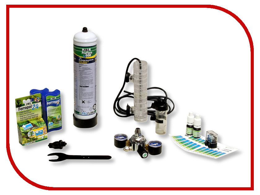 Средство JBL ProFlora CO2 u401 JBL6302600 jbl proflora bio co2 bio160 2 jbl6444600