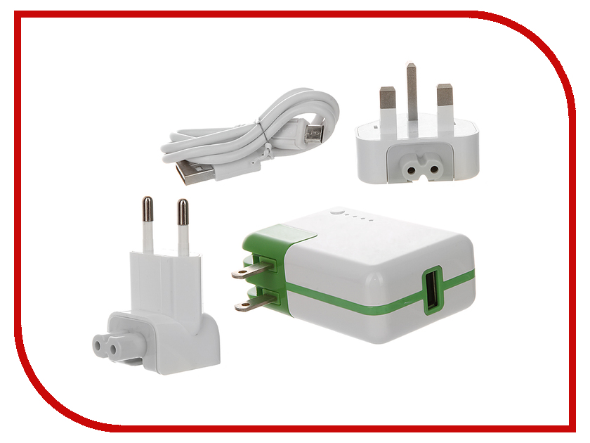 Зарядное устройство RedLine PA01-RL011 со встроенным аккумулятором 2600mAh<br>