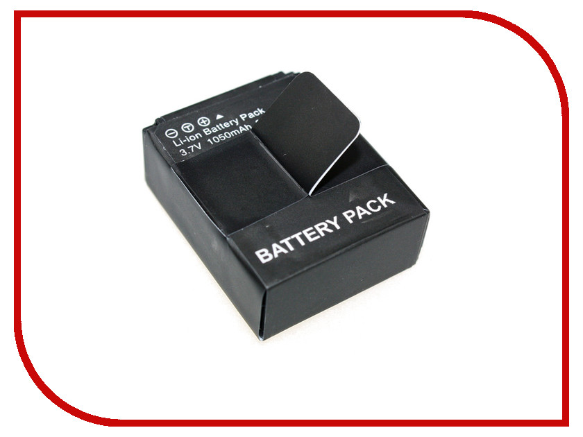 Аксессуар Redline RL36 аккумулятор для Hero 3/3+ 1050 mAh<br>