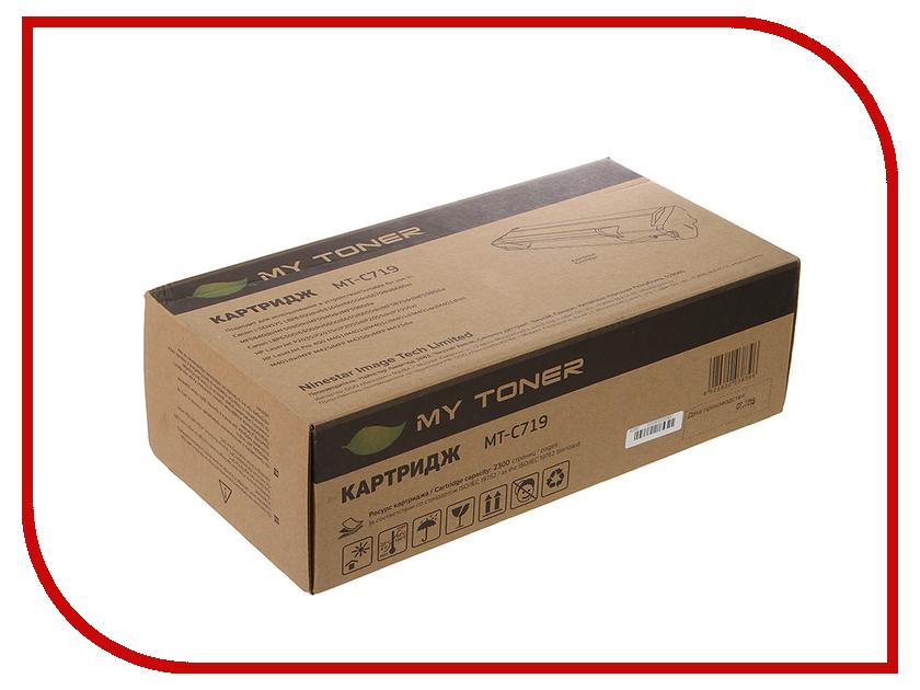 Картридж MyToner MT-C719 Black для Canon i-SENSYS MF5840/MF5880 LBP<br>