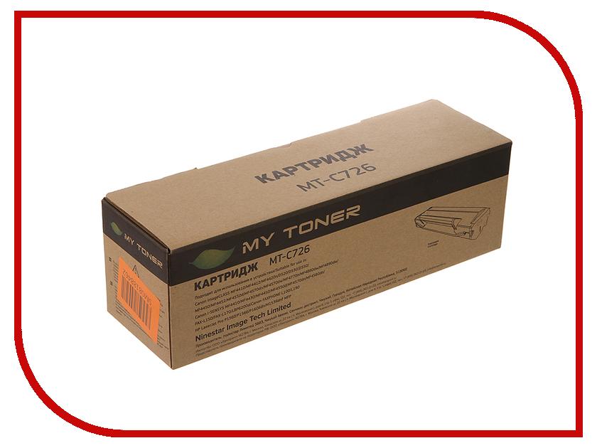 Картридж MyToner MT-C726 Black для Canon LBP-6200/6200D<br>