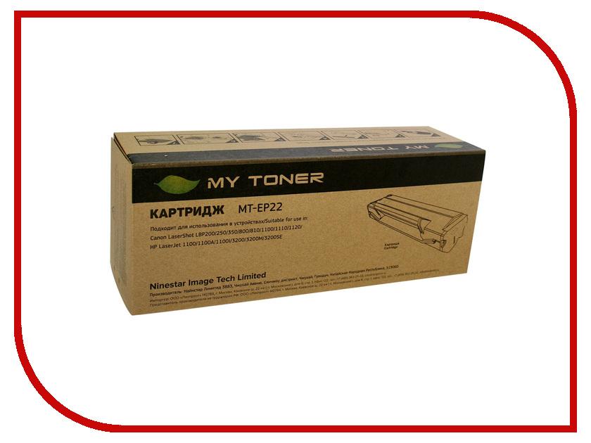 Картридж MyToner MT-EP22 Black для Canon LBP-250/350/800/810/1110<br>