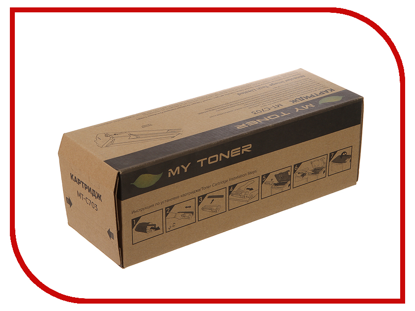 Картридж MyToner MT-C703 Black для Canon LBP2900/3000 Series<br>