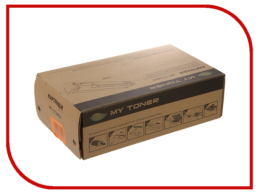 Картридж MyToner MT-CF280X Black для HP LJ Pro 400/M401/M425<br>