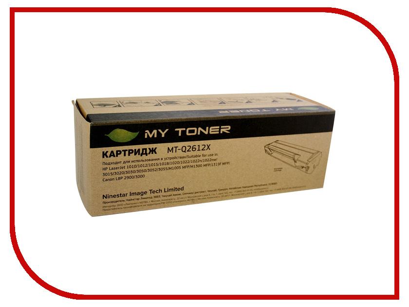 Картридж MyToner MT-Q2612X Black для HP LJ 1010/1012/1015/1018/1020 картридж mytoner mt ep22 black для canon lbp 250 350 800 810 1110