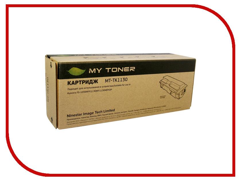 Картридж MyToner MT-TK1130 Black для Kyocera FS-1030/1130 картридж для принтера mytoner mt cb436a black