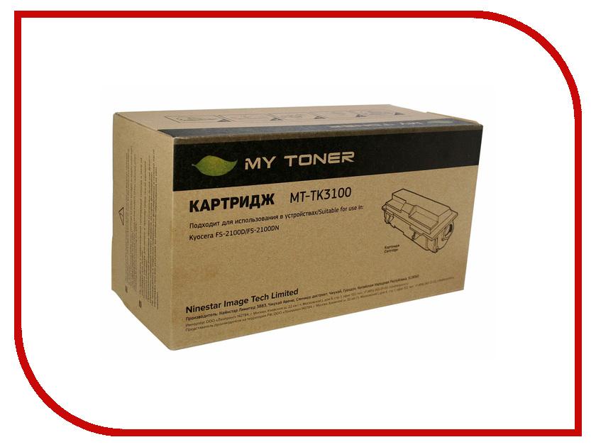Картридж MyToner MT-TK3100 Black для Kyocera FS-2100D/2100DN<br>