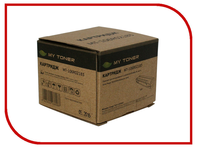 Картридж MyToner MT-PH3010X 106R02183 Black для Xerox Phaser 3010/W<br>