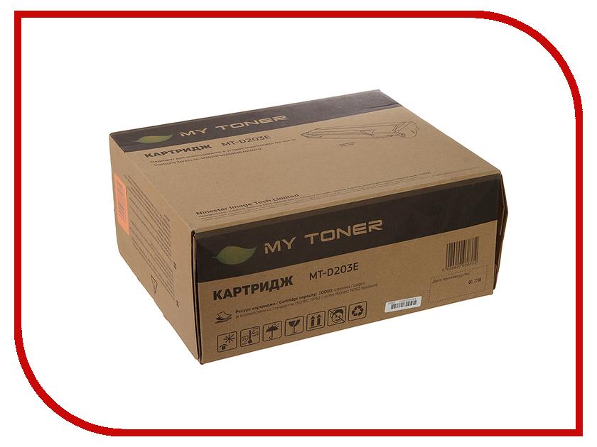 Картридж MyToner MT-D203E Black для Samsung SL-M3820D/M3820ND/M4020 картридж для принтера и мфу mytoner mt ep27 black