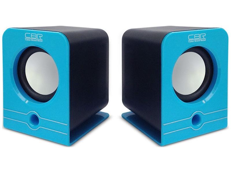 Колонка CBR CMS 303 Blue фото