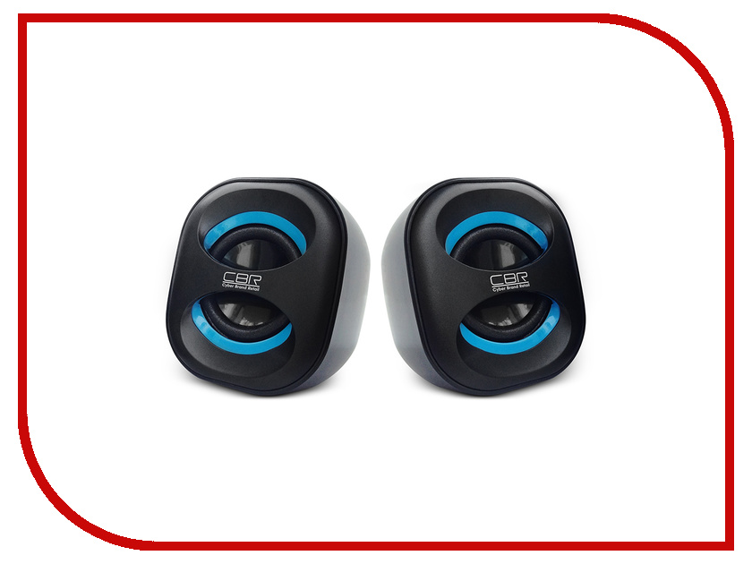 Колонки CBR CMS 333 Black-Blue