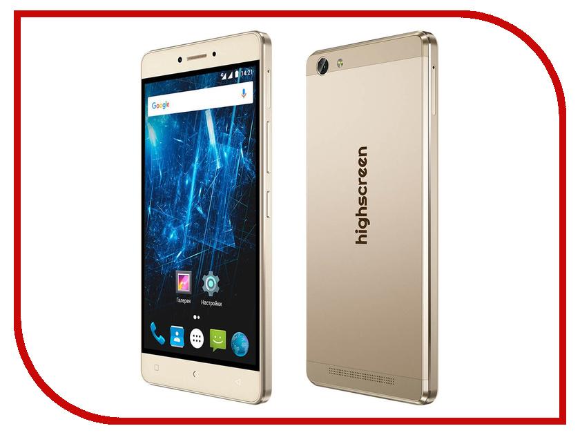 Сотовый телефон Highscreen Power Ice Max Gold<br>