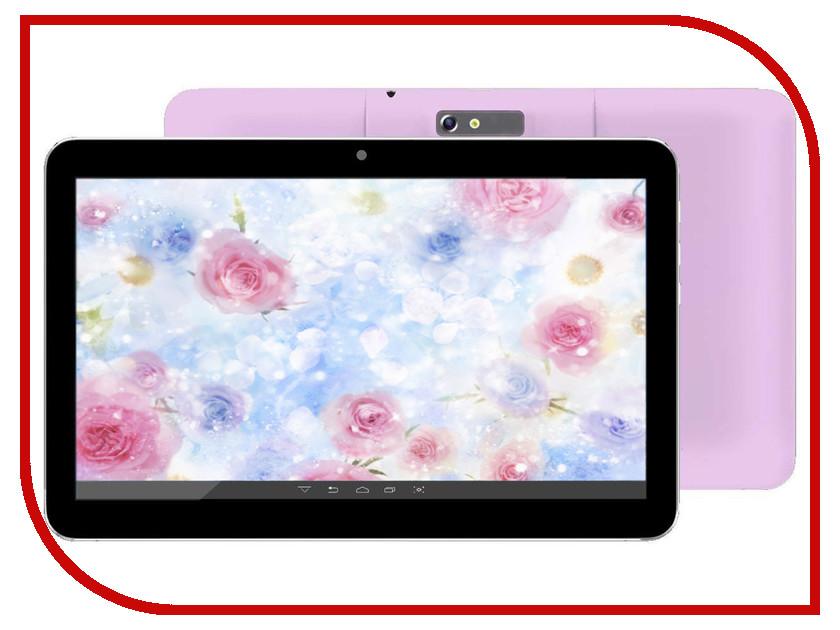Планшет BQ 1008G Grace Purple-Metallic Spreadtrum SC7731 1.2 GHz/512Mb/4Gb/GPS/3G/Wi-Fi/Bluetooth/Cam/10.1/1024x600/Android