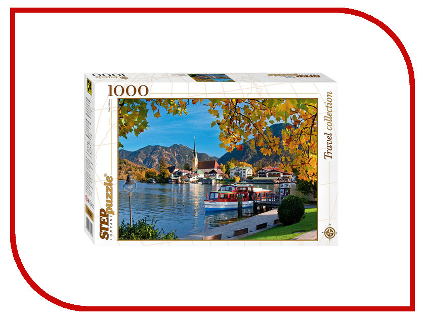 3D-пазл Step Puzzle Travel Collection Бавария. Озеро Тегернзее 79104