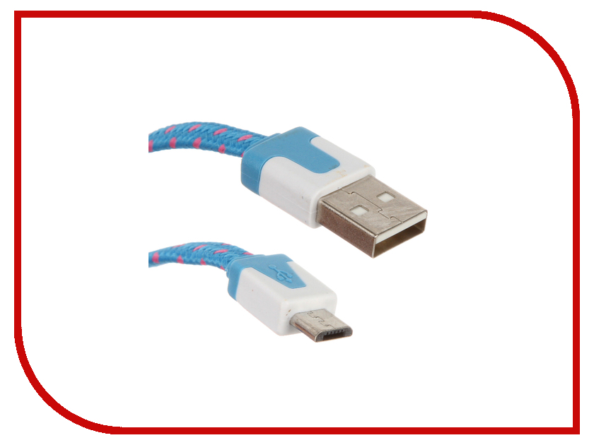Аксессуар CBR USB - Micro USB Human Friends Super Link Lace M 2m USB - Micro USB Human Friends Super Link Lace M 2m Blue