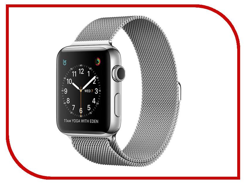 Умные часы APPLE Watch Series 2 42mm with Milanese Mesh Band MNPU2RU/A