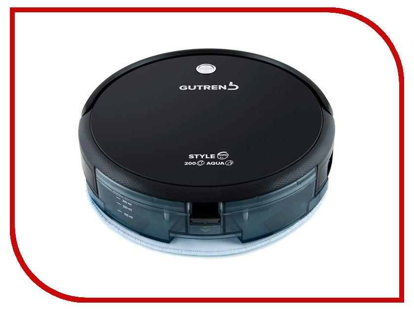 Пылесос-робот Gutrend STYLE 200 Aqua Black
