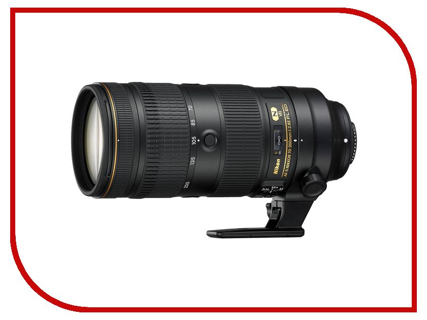 Объектив Nikon Nikkor AF-S 70-200 mm F/2.8 E FL ED VR nikon nikkor af s 55 300mm