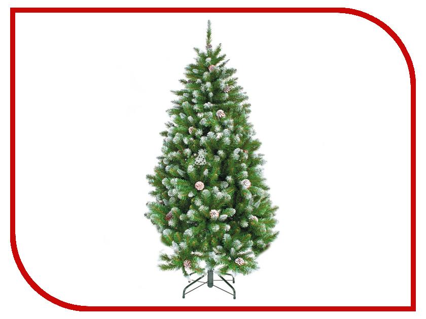 Искусственная Ель Triumph Tree Императрица с шишками 185cm Заснеженная