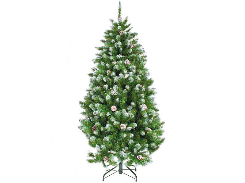 Ель Triumph Tree Императрица с шишками 185cm Заснеженная