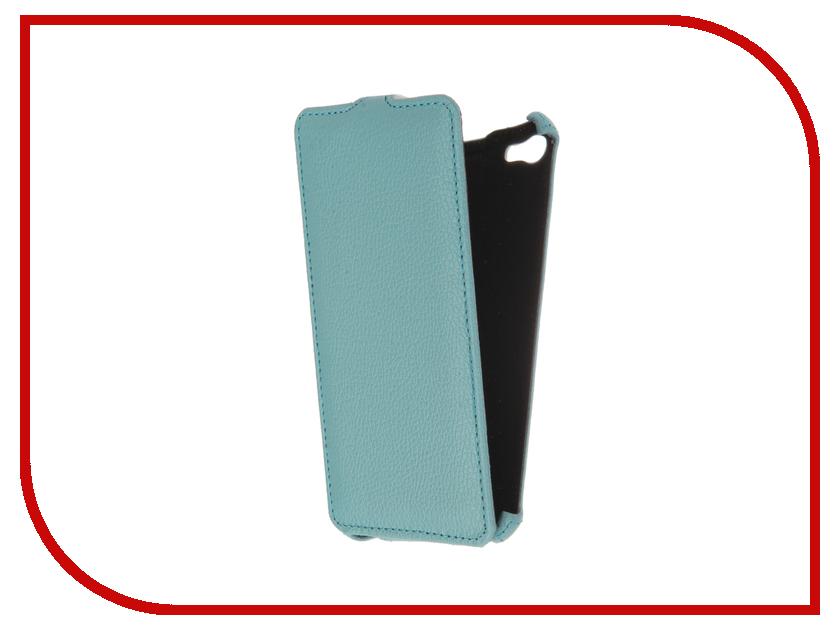 Аксессуар Чехол Meizu U20 Gecko Light Blue GG-F-MEIU20-BLU<br>